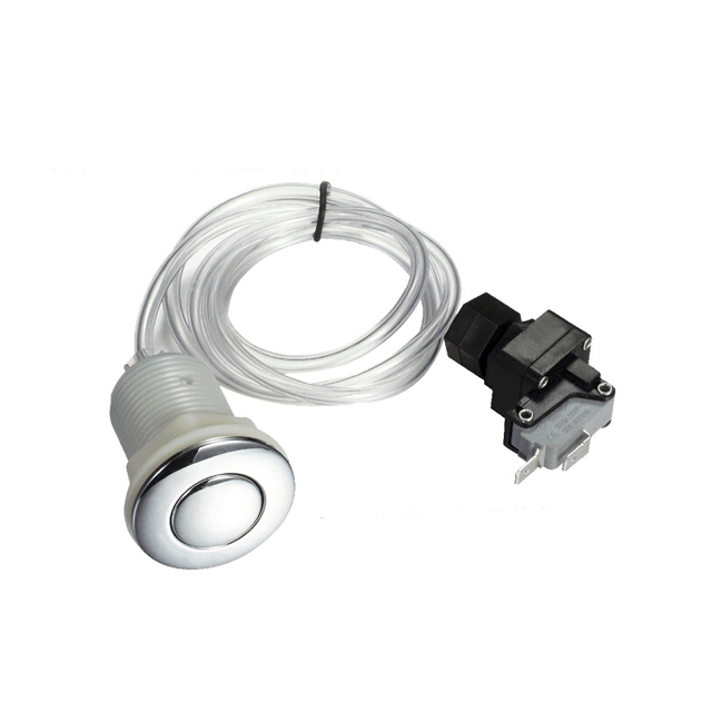Garbage Disposer Spa Bathtub Pneumatic Air Switch On Kit For Insinkerator Evolution Food Waste Equipment