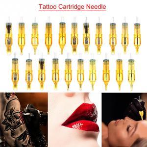 Image 2 - 10 Stuks Wegwerp Tattoo Cartridge Naalden Tattoo Makeup 3RL/5RL/7RL/9RL/5M1/7M1/ 9M1/5RS/7RS/9RS Voor Microblading Tattoo Machine