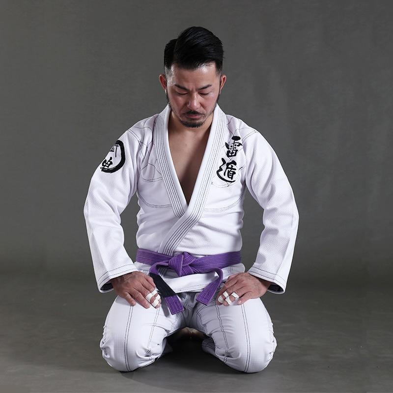 2017 New Release Sunrise BJJ GI Training Brazilian Jiu Jitsu Gi 100% Cotton Fabric Bjj Gi