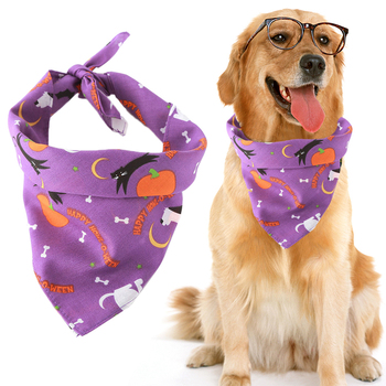 Halloween Pet Dog Accessories Dogs Bibs Cat Bowtie Dog Bandana Pet Accessories for Dogs Scarf Mascotas Perros Accesorios 5