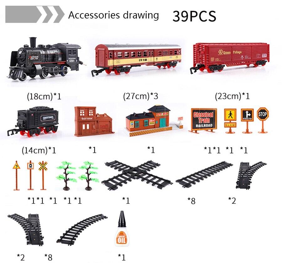 Simulação trem de trilha elétrica clássico modelo