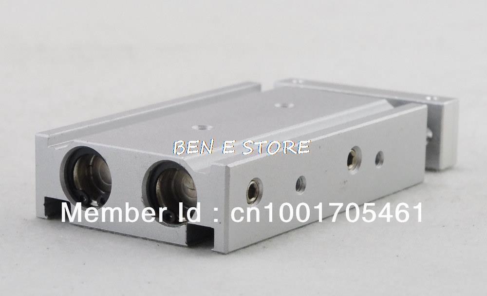 лучшая цена SMC Type CXSM 20-10 Compact Type Dual Rod Cylinder Double Acting 20-10mm Accept custom