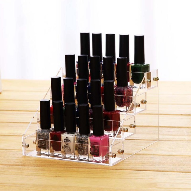 New Promotion Makeup Cosmetic 4 Tiers Clear Acrylic Organizer Mac ...