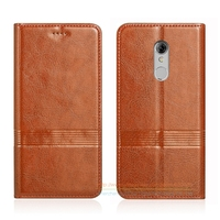 Vintage Genuine Leather Flip Stand Case For ZTE Xiaoxian 4 BV0701 5 2 Luxury Phone Leather