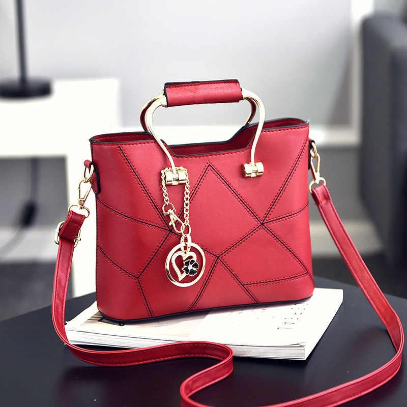 SDRUIAO Messenger Tas voor Vrouwen 2019 Dames PU Lederen Handtassen Luxe Kwaliteit Vrouwelijke Schoudertassen Beroemde Vrouwen Designer Tassen