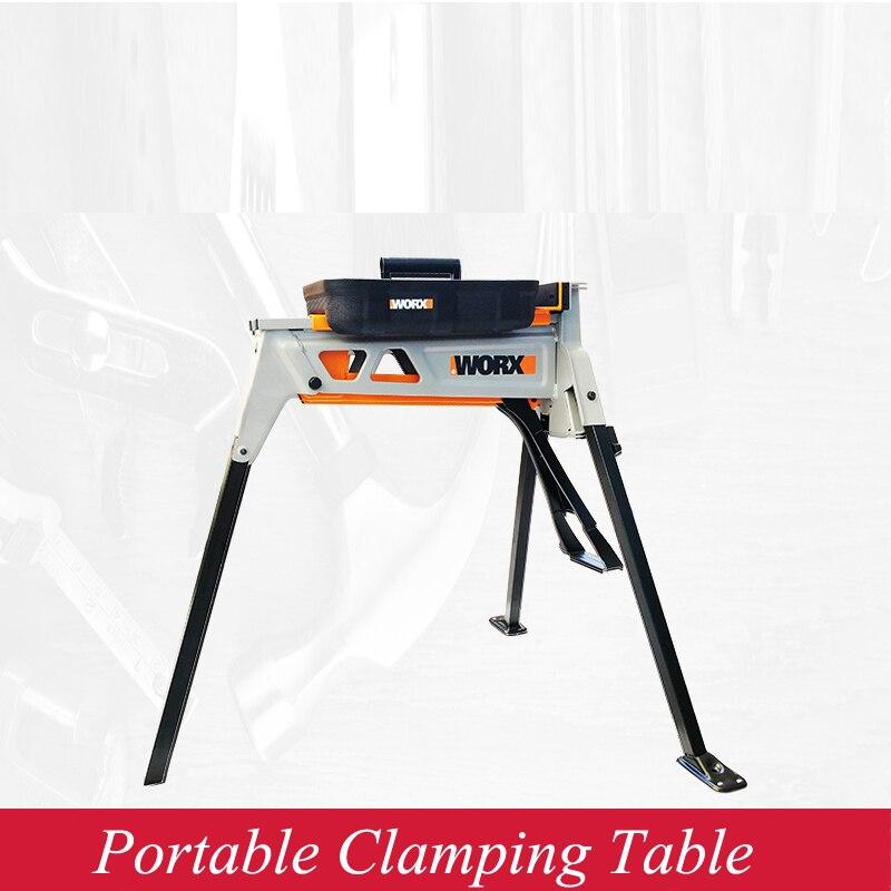 Купить с кэшбэком Woodworking Fast Clamping Vise Vise Multi-function Portable Workbench WX060