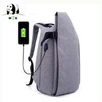Men Women New USB Charge Rucksack Backpack For 15 6 Inches Laptop Backpack Large Capacity Casual