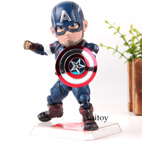 Marvel Avengers Toys Captain America Age of Ultron Beast Kingdom Egg Attack Action EAA 011 6 Inch Action Figure PVC Toy Figures