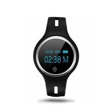 E07บลูทูธสมาร์ทสายรัดข้อมือกันน้ำIP67 S Martband PedometerกีฬาออกกำลังกายMonitorสำหรับiPhone Androidมาร์ทโฟน