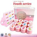 12 Colors LED UV Gel Builder Cover Pure Soak Off Natural UV Nail Art Tips Youth Elegant Natural Series CANNI