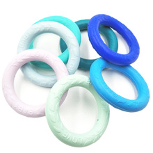 12 Colors New Baby Teething Ring Food Grade Silicone BPA Free Baby