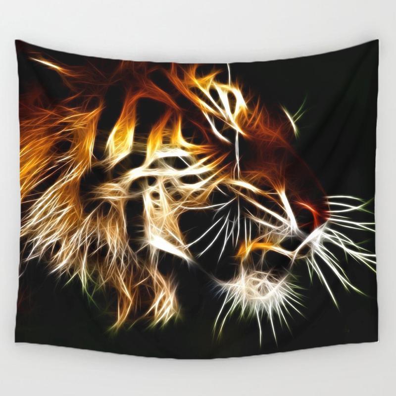 Tapiz impreso para decoración del hogar tapices colgantes de pared Toalla de playa manta de Picnic