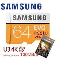 Carte mémoire SAMSUNG Micro SD 32 go 64 go 128 go classe 10 Microsd 32 go SDHC/SDXC tarjeta TF carte C10 U3 U1