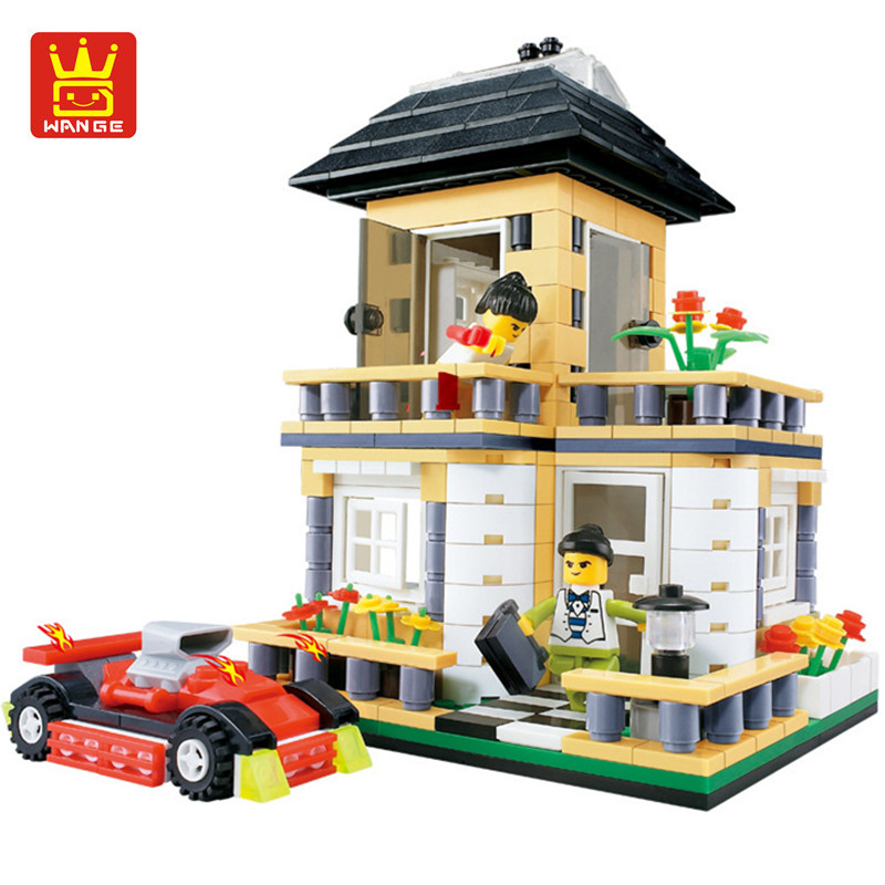 Wange 405pcs City Creation Villa Building Blocks Sets