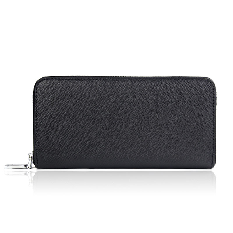 High Quality Genuine Leather Wallet Men Designer Brand Coin Purse Long Zipper Wallets Large Capacity Male Business Clutch Purses  bvlriga women wallets famous brand leather purse wallet designer high quality long zipper money clip large capacity cions bags
