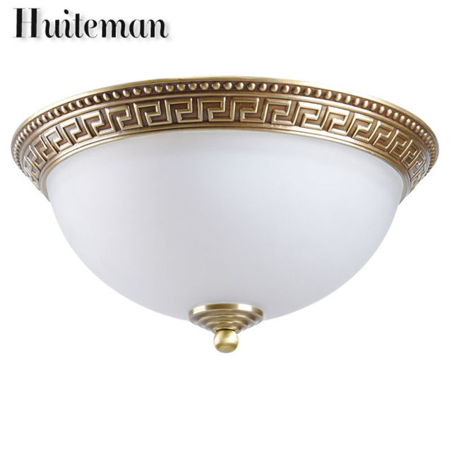 Decorative Lighting Fixtures. Huiteman Brass Ceiling Lights Copper Glass Lighting Luminaire Living Room  Bedroom Loft For Decorative Fixtures Aliexpress com Buy