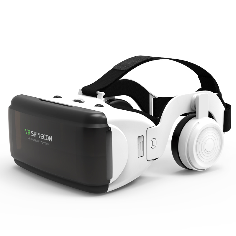 VR Shinecon Google Cardboard Pro Version 3D VR Virtual Reality 3D Glasses Smart VR Headset цена
