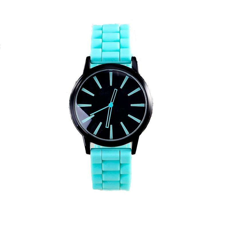 Dameshorloges Sport Siliconenhorloge Dameshorloges Unisex Hot Sale Ronde wijzerplaat Polshorloge relojes montre femme relogio feminino