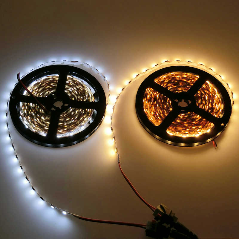 LED Strip Ánh Sáng 12 V S Shape 2835 SMD Linh Hoạt LED Light 60LED/m 5 m Cho Góc Miễn Phí uốn Thư Kênh S loại Linh Hoạt 2835
