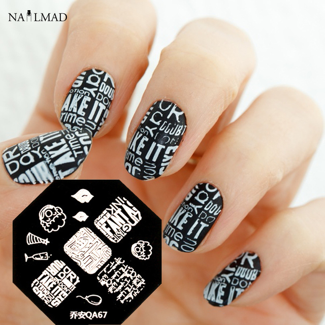Letter nail art stamp template lovely lip cartoon cup stamping letter nail art stamp template lovely lip cartoon cup stamping plate nail art stamp tools qa67 prinsesfo Choice Image