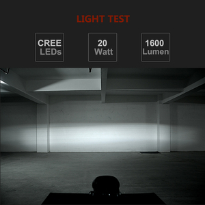 Image 5 - 20W HA CONDOTTO LA Luce del Lavoro di 6D Universale Moto Off Road Ausiliario del Punto Della Lampada di Guida Della Luce di Nebbia per il Camion Auto Moto faro Spot