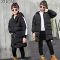 Children's Winter Jackets For Girl Down Jackets Coat Boy Parka Kids Baby Clothes Suit Outerwear Windproof Snow Coats GH169