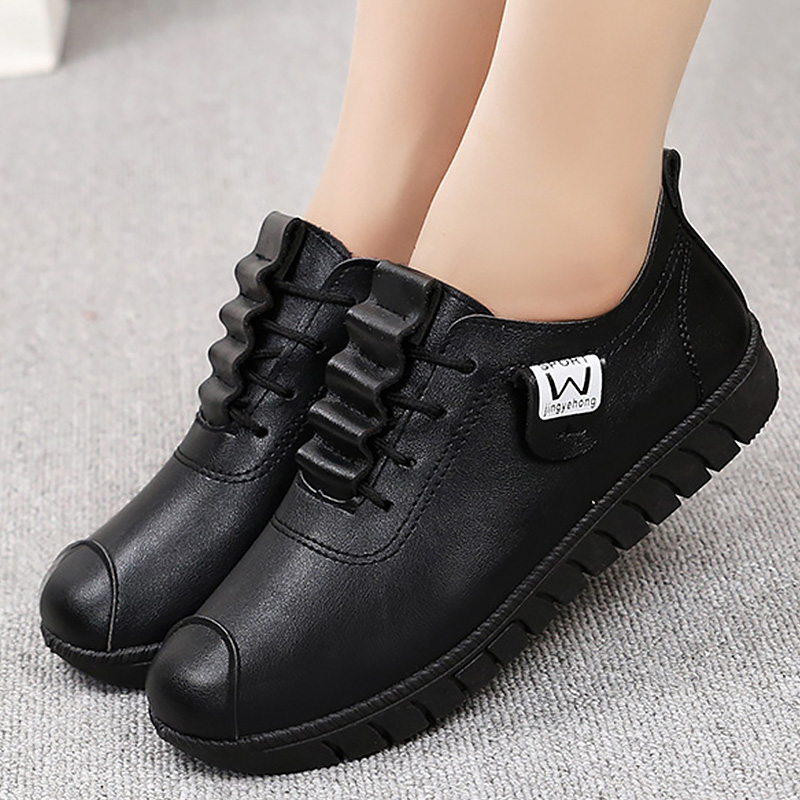 Sneakers Fashion Casual Shoes Women Size 10 Ladies Shoes China Leather Hiking Shoes Girls School Sneakers 2019