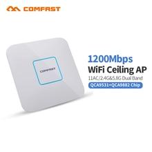 COMFAST CF-E355AC 1200 М Dual Band wireless крытый AP 2.4 Г + 5.8 ГГц Wi-fi Точка Доступа AC маршрутизаторы extender Усилитель Сигнала Усилителя