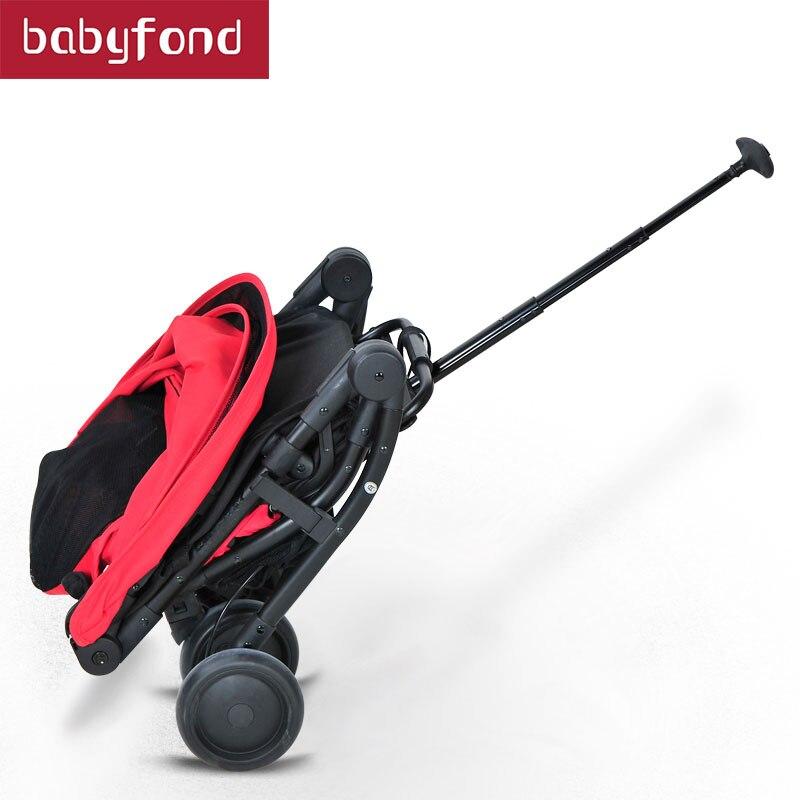 2018 коляска Pitman style Trolley Baby Spirit детская коляска высокого качества капюшон одна рука может быть на самолете зонтик тележки