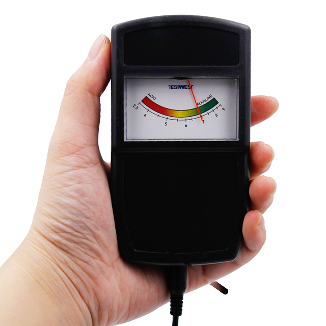 Top quality tipo Puntatore strumento Del Suolo pH meter tester di misura  Portatile monitor Facile Da 828c325c1784a