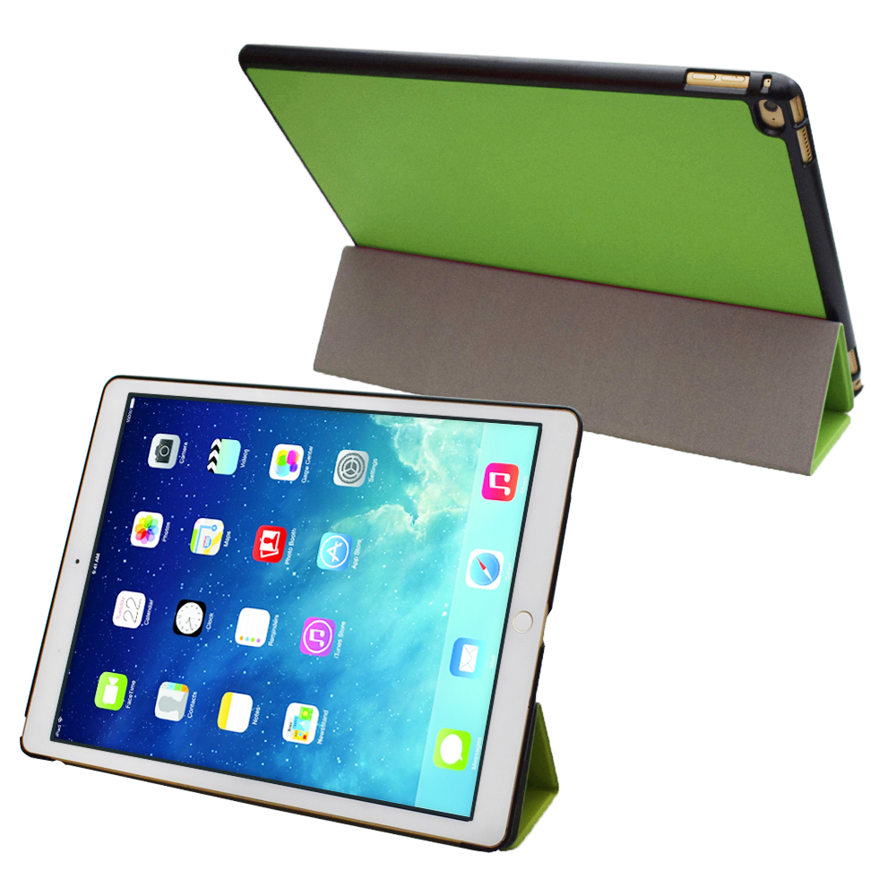 Pro 3 tablet sleeve case slim wallet pu leather protective skin pouch - Ultra Slim Smartshell Pu Leather Cover Case Stand For 2015 Apple Ipad Pro 12 9 Inch Tablet Bag Pouch Pocket Magnetic Closured
