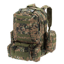 цены 50L Military Tactical Backpack Large Capacity Hiking Camping Camouflage Backpack Outdoor Climbing Bag Travel Backpack