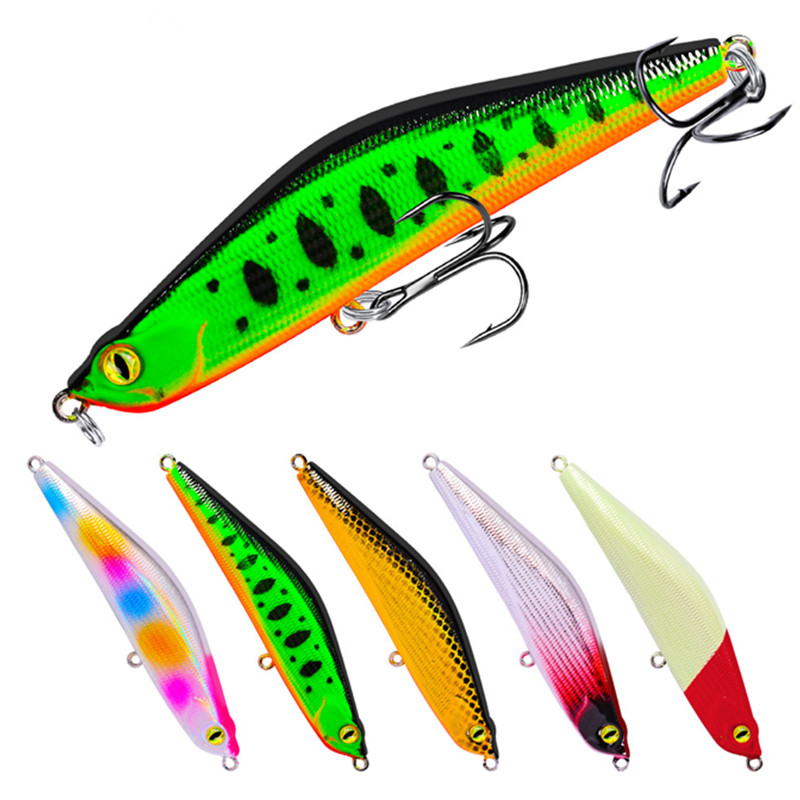 2019 New Fishing lures Bait fishing gear pesca 9.3cm/16g Variable sinking Fishing lure 3D Eyes Fishing Tackle