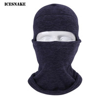 ICESNAKE Motorcycle Face Mask Winter Windproof Moto Balaclava Outdoors Sports Motorbike Head Neck Warmer