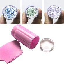 3 Colores de La Venta Caliente DIY Plantilla Polaco Stamping Manicura Sello Stamper Scraper Set Herramientas Del Clavo Del Arte Del Clavo Envío Gratis
