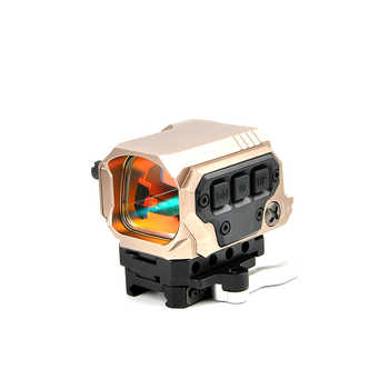Optical R1X Red Dot Sight Scope Reflex Sight Holographic Sight With IR Function Quick Release Mounts for 20mm Rail Hunting Scope