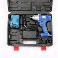 TECHSTABLE 96 В Многофункциональный Перезаряжаемые электрический ключ литиевых Батарея гайковерт Установка инструмент Мощность инструменты