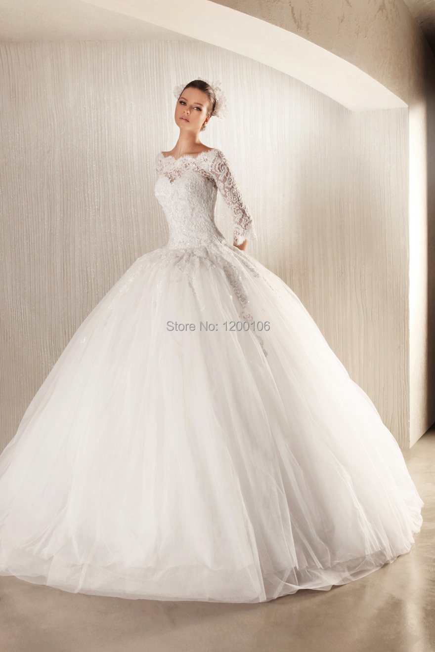 wedding dresses lace top wedding dress Watters Wedding Gown tulle skirt and lace top