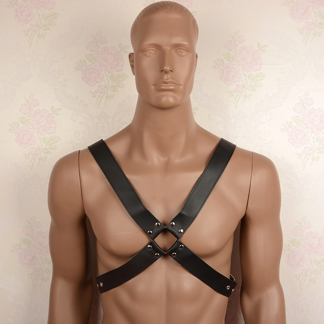 Sex Bondage Set Leather Body Harness Men Bondage Restraints Male Chest Strap Adult Games Products Costumes,Sexy Lingerie For Men