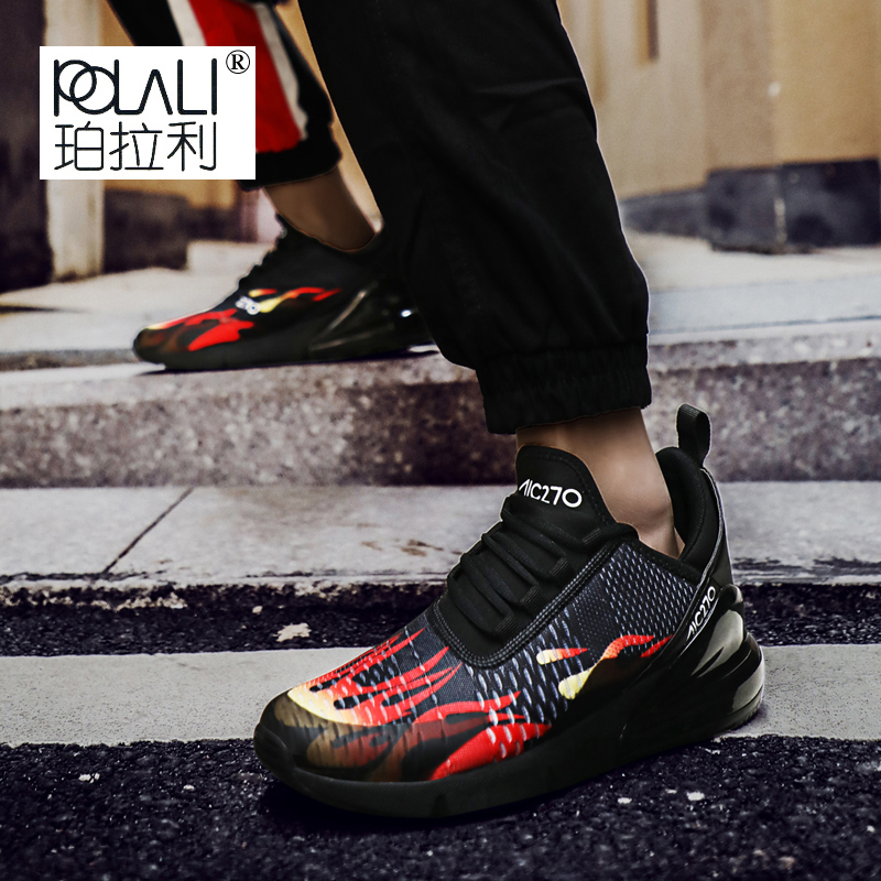 Casual De Tech Amortissement Noir Hommes D'air Flyknit Femmes vert Zapatillas rouge Sneakers Coussin Nouvelle Chaussures Haute Respirant Hombre Mode Arrivée blanc 0fqOwnYv