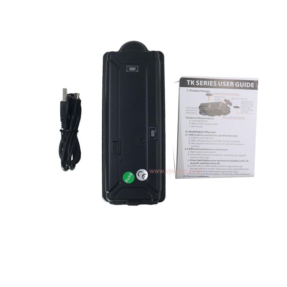 US $79 88 35% OFF|VJOYCAR Top Quality GPS Tracker 20000mAh Internal Big  Battery Waterproof IPX7 Car Vehicle Tracking Locator Device-in GPS Trackers