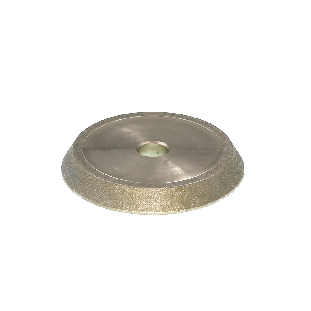 CBN Diamond grinding wheel. 13-type drill grinding machine wheel. 60 angle diamond wheel. CBN 78*12.7*10