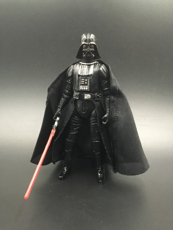 3.75 action figure star war Darth Vader / Black Warrior high-powered model doll Free shipping S053