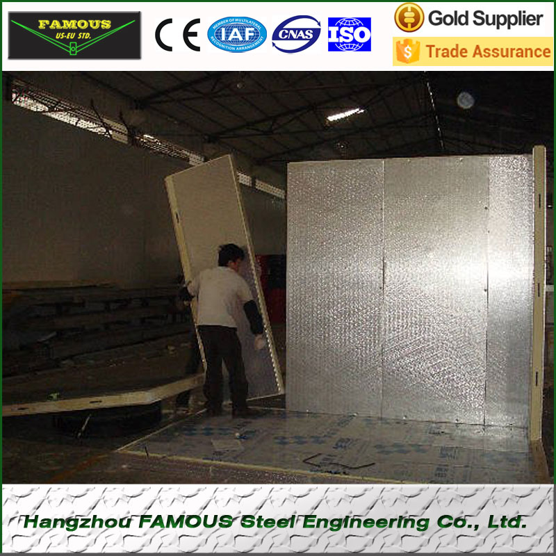 Container Cold Room Panel Door Polyurethane PU Sandwich Panel Specialized