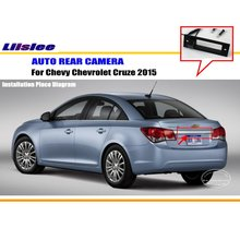 Car Camera For Chevy Chevrolet Cruze 2015 / Rear View Camera / HD CCD RCA NTST PAL / Trunk Handle OEM цена