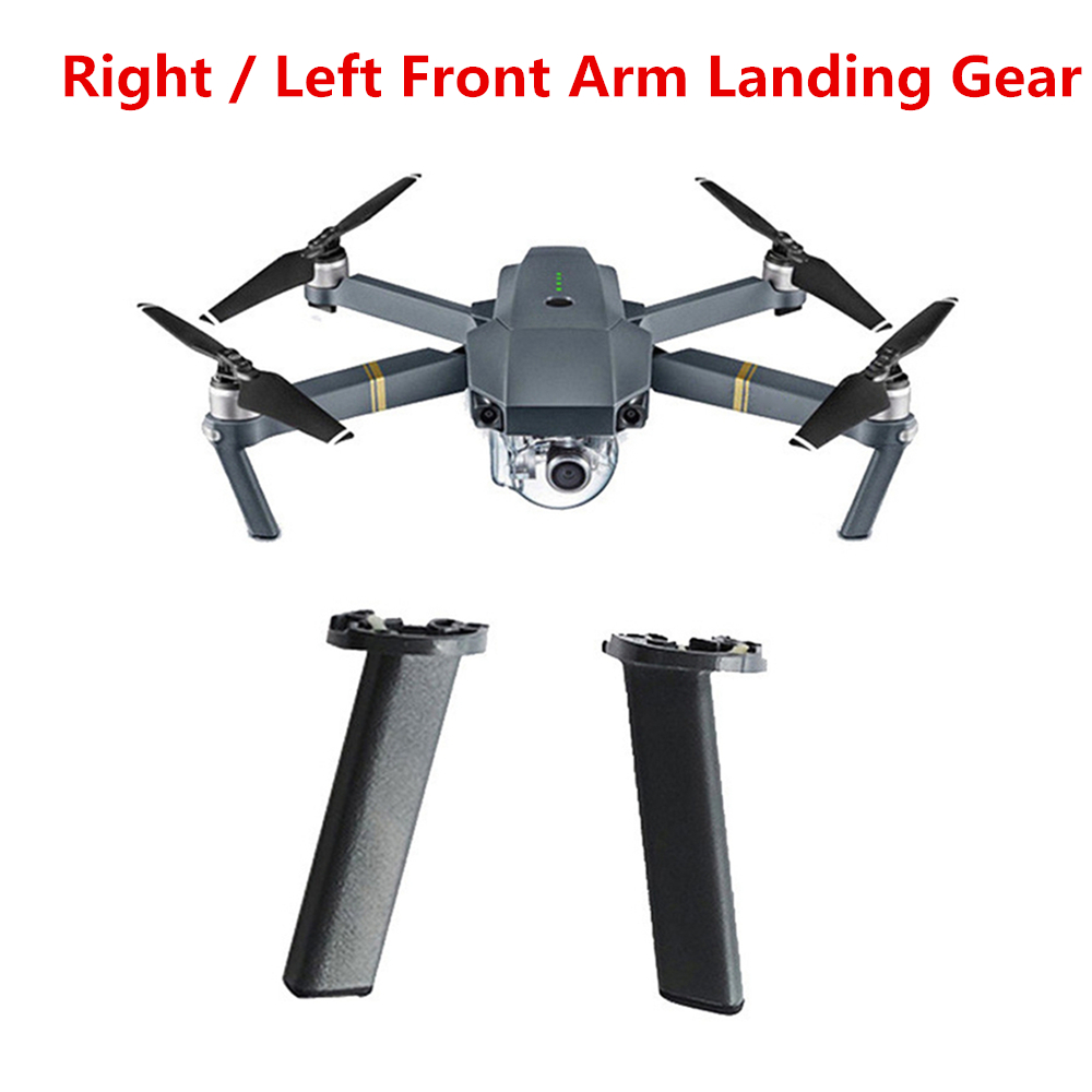 Original Front Arm Landing Gear Leg For DJI Mavic Pro Drone Left or Right Front Landing Gear Leg Repair Parts Drone Accessories dynamic analysis of landing gear