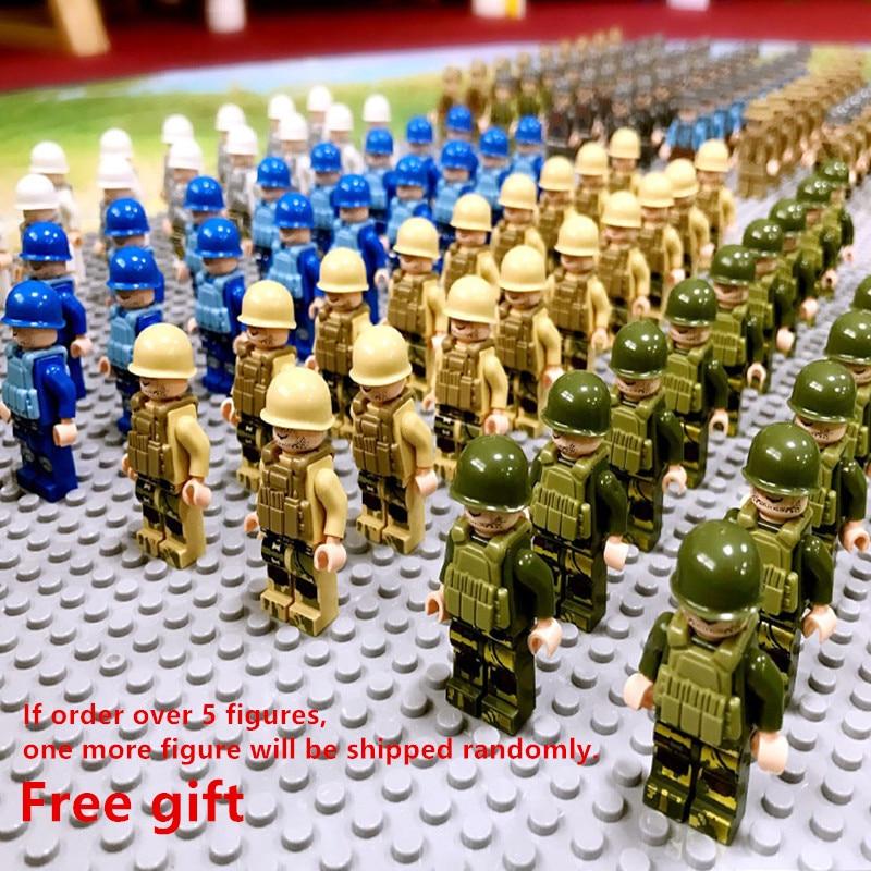 Enlighten Ninja Soldiers Building Blocks Boys Toys Gifts Compatible