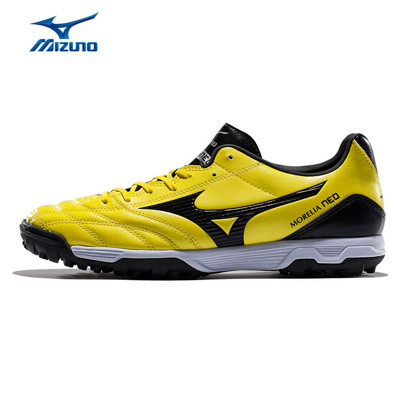MIZUNO Men's MORELIA NEO UT Soccer Shoes TF Support Breathable Sports Shoes Sneakers P1GD151594 YXZ058 купить в Москве 2019