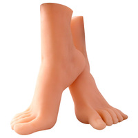 Силиконовая форма для ног альтернатива стимулирующая сущность секс кукла Женская ступня мастурбация товары для взрослых