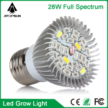 E27 28W Full Spectrum LED Grow Light Horticulture Light for grow box Garden Flowering Plant and Hydroponics System plant growing
